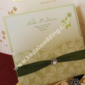 undangan pernikahan buatan sendiri