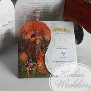 undangan pernikahan dengan foto