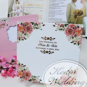 kartu undangan pernikahan murah