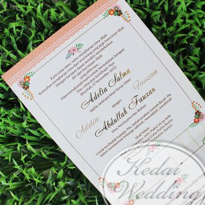 Undangan Pernikahan Islami, Desain Undangan Islami  Undangan Pernikahan