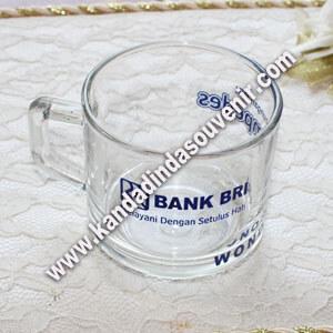 souvenir gelas bening
