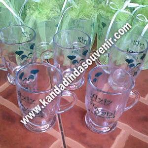 Souvenir Gelas Piala Bening Mini