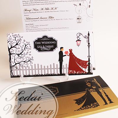 undangan-pernikahan-gambar-pengantin-berjilbab-warna-gold-emas