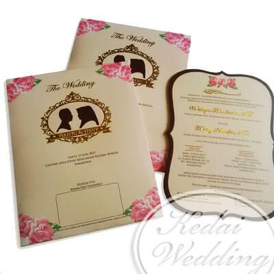 undangan pernikahan cantik