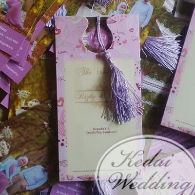undangan pernikahan simple