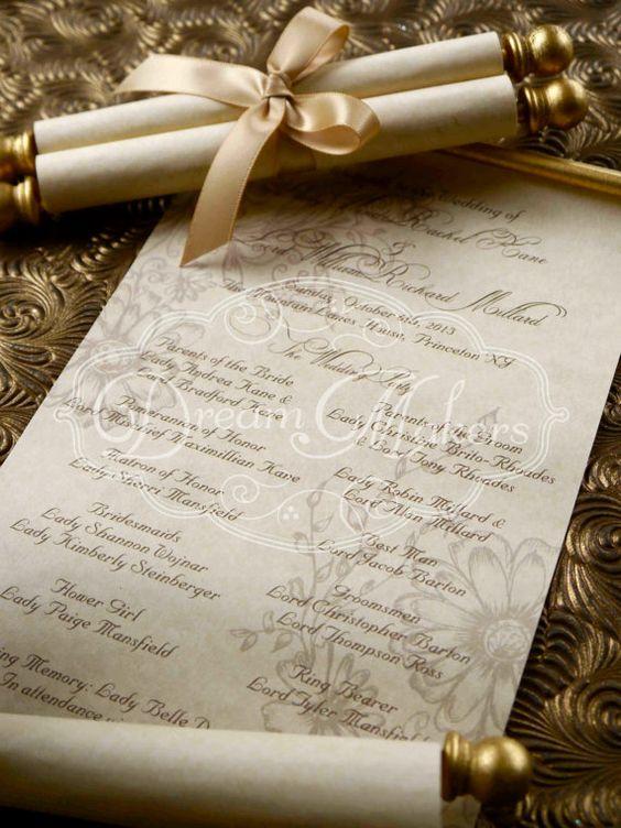 Undangan Pernikahan Gulung