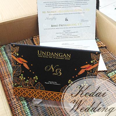 undangan pernikahan elegan simpel