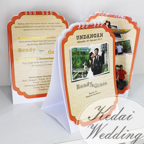 undangan-pernikahan-kalender-unik
