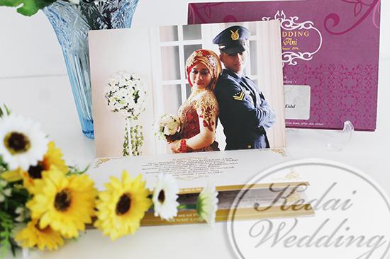 cetak undangan dengan foto prewedding