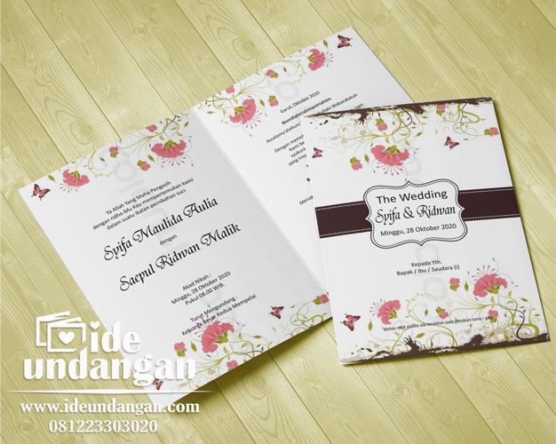 undangan pernikahan harga 500