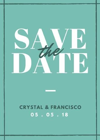 tema desain undangan pernikahan minimalis