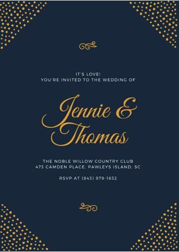 tema desain undangan pernikahan modern