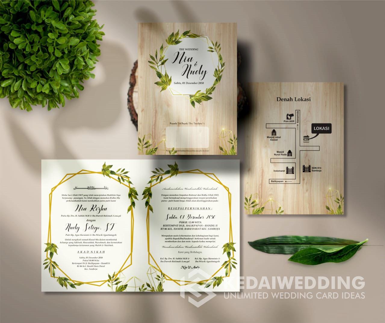 Kartu Undangan Pernikahan Murah Blangko scc20 – Undangan Pernikahan